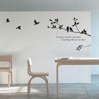 Cj21010 magpie tv background wall furnishings wall stickers