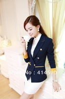 Free shipping,2013 new in stock 2013 Hitz little jacket, ladies suits, business wear, casual wear,1piece/lot