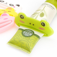 Squeeze toothpaste device cartoon animal manual facial cleanser squeezer multi-purpose toothpaste clip