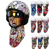 Fashion Thermal Fleece Half Face Mask Snowboard Snowmobile Snow Ski Sled  Facemask  X-Sport Skate Skating Skids Skateboarding