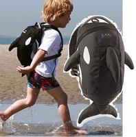 Kids  Bag  Daysack Free Shipping 1PCS Retail Doomagic Children's Backpack Waterproof Boy BackPacks Shark Shoulder Bags D220