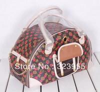 2013 Hot Sale Fashion pet bags pet travel carriers Travel Handbag Tote EMS Free Shipping