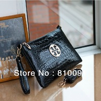 Brand Design pu leather  female multifunctional  Crocodile  women's day  clutches  shoulder bag clutch bag