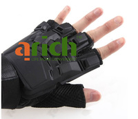 Free Shipping AK Army Half Finger Tactical Gloves for Airsoft Paintball Combat Outdoor