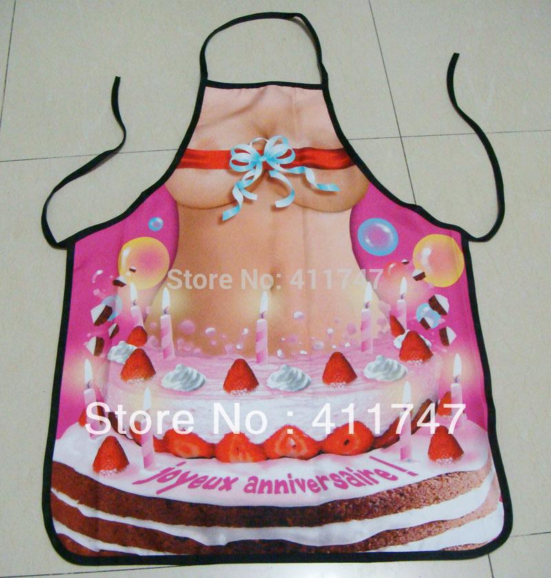 New Sexy Apron Woman Birthday Cake(China (Mainland))