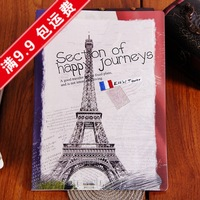 Korea stationery a5 fashion vintage laptop diary notepad school supplies