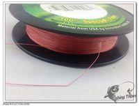 Free Shipping  PE Braid Fishing Line 4 strands 8lb------80lb  150 yards dyneema fishing line red