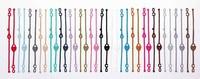 2013 Hot Sale 10 Colors Lock & Key Shape Italy Lace Bracelet Jewelry 50PCS/LOT Free Shipping