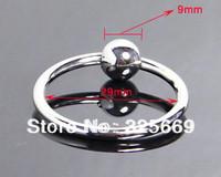 Metal cock ring penis jewelry penis plug jewel plugs steel cock ring metal penis ring