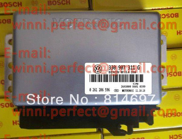 For Santana 1.8 car engine computer ECU(Electronic Control Unit)/For ECU M1.5.4 Series/330907311G/0261206596(China (Mainland))