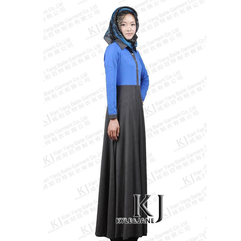 Elegant Fashion Islamic Muslim Lace Elegant Dress For Women Long Maxi Dresses