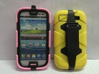 Hot carapace bracket style cell phone case cover  for Samsung Galaxy S3 I9300 case 10pcs/lot free shipping