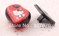 Hair Styling Tools Tangle Teezer Professional Detangling Hair Comb Hello Kitty Hair Comb 12 pcs/lot