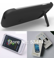 Ultra Thin External Battery Case For Samsung Galaxy S3 SIII I9300 Backup Battery 3200mAh Emergency Charger Power Bank 1PCS