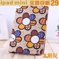 Mini  for apple    for ipad   protective case ultra-thin ipad234 protective case ipad leather