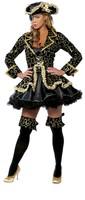 Queen cosplay costume halloween clothes pirate demon