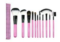 Color Shine-High Quality Wool Brush Set 11pcs brush set professional makeup tools Brushes Brush Sets Wholesale