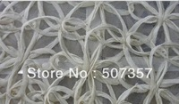 Wholesale Simulation sub lace fabric ribbon / mesh bottom plate cutwork dress wedding dress fabrics A169