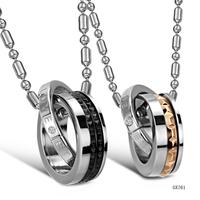 2014 popular kulon jewelry titanium lovers hip hop statement necklace namysto yuvelirni vyroby zhinok