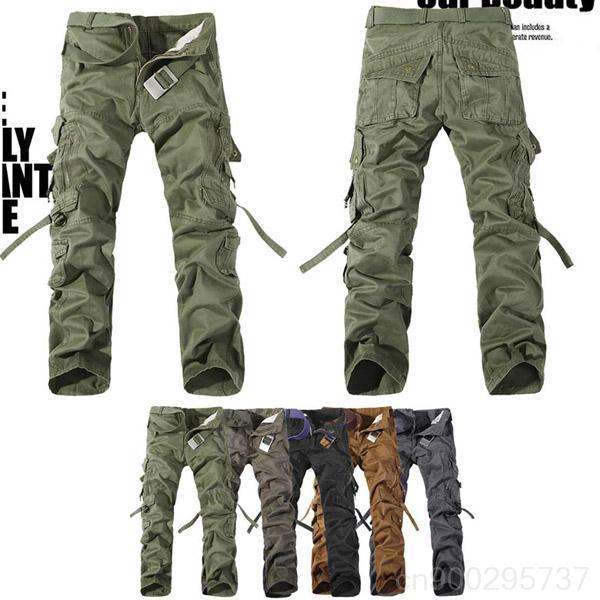 [해외]2013 MENS CASUAL MILITARY ARMY CARGO CAMO C..