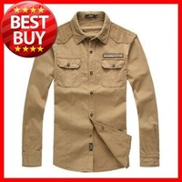 2013  Autumn and Winter  Top  Quality   Men's   Big   Size(L-4XL)  Brand   Long  Sleeve   Shirt
