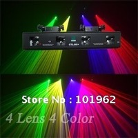 China laser projector 30mW Green + 100mW Red laser + 130mW Yellow laser + 100mW Violet laser disco light for party show