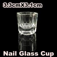 [BZZ-001] 10X Glass Crystal Bowl Cup Dappen Dish Arcylic Nail Art + Free Shipping