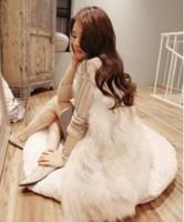 2014 autumn and winter fur women's medium-long fox fur vest fur coat overcoat female