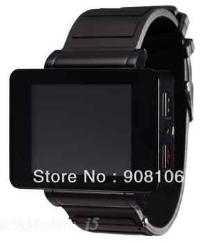 DHL free shipping Watch mobile phone i5 with bluetooth +1.8 inch +Talking TomCat+ compass+ torch + FM + MP3/MP4+3D sensor