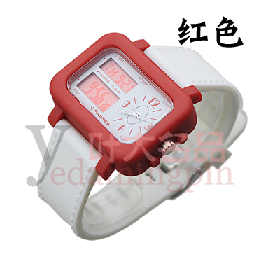 Pasnew watch 30 meters submersible sports dual display table pse-342(China (Mainland))