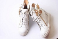 classic hawk  increase in  GZ  women sneaker lace-up high-cut casual gz shoes 2013 100% leather gz boots free shipping