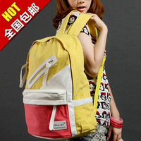 2013 student backpack women's handbag canvas bag large capacity backpack school bag travel bag