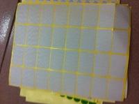 Blank label paper  3.8*2.5cm