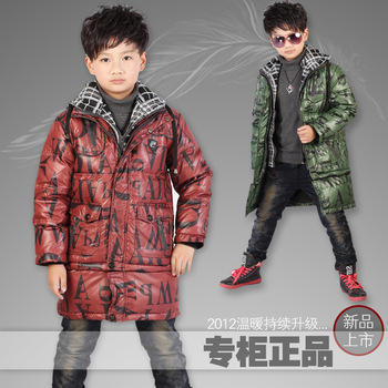 Big snow doll child down coat child baby fashion down coat  +Free shipping