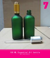 100ml wholesale pump essential oil bottle grade sub bottle with glass dropper lipstick