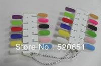 FreeShipping 12 Colors Fashion Tips Nail Decoration Velvet Nail Powder Nail Art Tools Manicure Nail Polish Wholesale