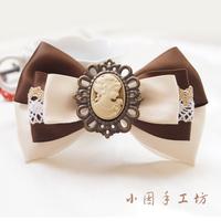 Handmade hair pin bow hair accessory hairpin accessories hair accessory headband hair accessory vintage a0136