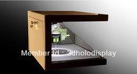 360 degree Custom-made Holographic Showcase,Advertising Showcase,Pyramid Hologram Display,Holographic Advertising Showcase