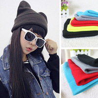 Free shipping Knitted hat female  winter three-dimensional cat ear hat knitted hat knitted hat pocket