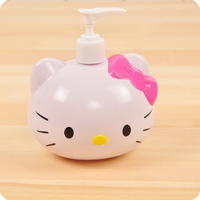 Hellokitty hand squeeze bottle hand sanitizer bottle HELLO KITTY shower gel bottle lotion bottle