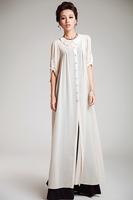 IN STOCK !!  Chiffon fabric OUTSIDE COAT for sell muslim women abaya coat