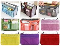 2013 new Women Travel Insert Handbag Organiser Purse Large Organizer storage Bag in Bag