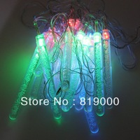 1X Holiday Ourdoor Colorful RGB 20 LED String Lights 4M EU Plug Chrismas Party Tree Decoration Waterspout fairy Light 710285