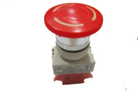 Mushroom head auto lock switch y090-11zs 22mm emergency stop switch