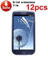 2014 12 X Hot Sale Anti Glare Matte Screen Protector Cover For Samsung Galaxy S3 III i9300 t999