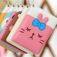 Korea stationery fashion small animal card holder clip card case