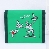 7up cartoon wallet child wallet male female child wallet soft light fabric velcro wallet