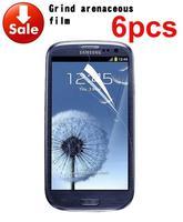 2014 6 X New Anti Glare Matte Screen Protector Cover For Samsung Galaxy S3 III i9300 t999