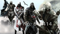 """18 Assassin's Creed IV Altair Ezio Connor 42""""x24"""" Inch Wallpapr Sticker Poster with tracking number"""