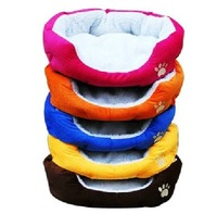 2013 HOT Sales ! Colorful Pet Dog Nest / Cat And Bed & Pink / Orange / Blue / Brown, SIZE M, L, Free Shipping
